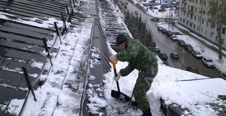 Финская лопата для уборки снега