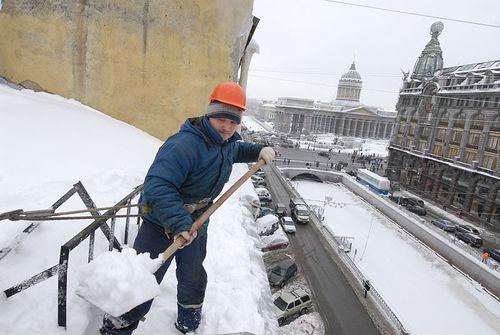 Типовой договор на очистку от снега кровли